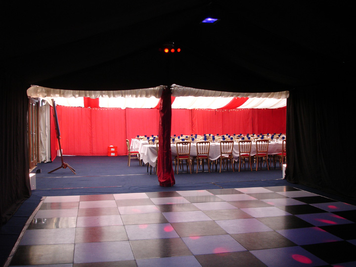 Marquees decorated in your own theme