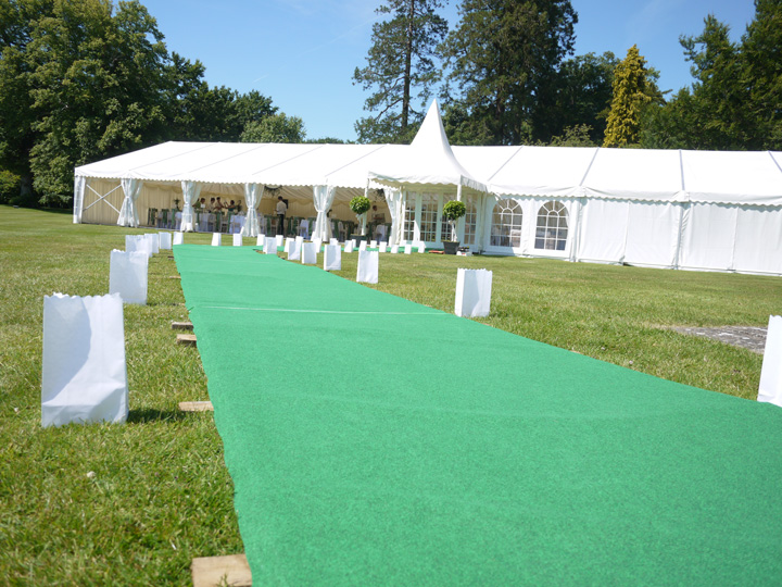 Tennis theme party marquee hire
