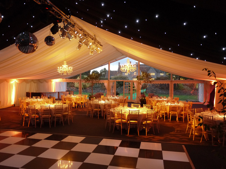 Marquee lighting rigs