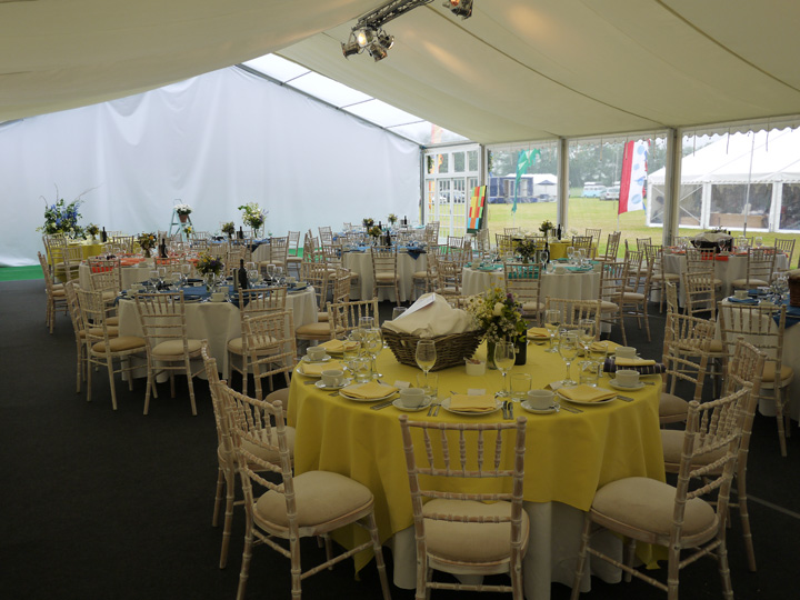 Marquees for festivals
