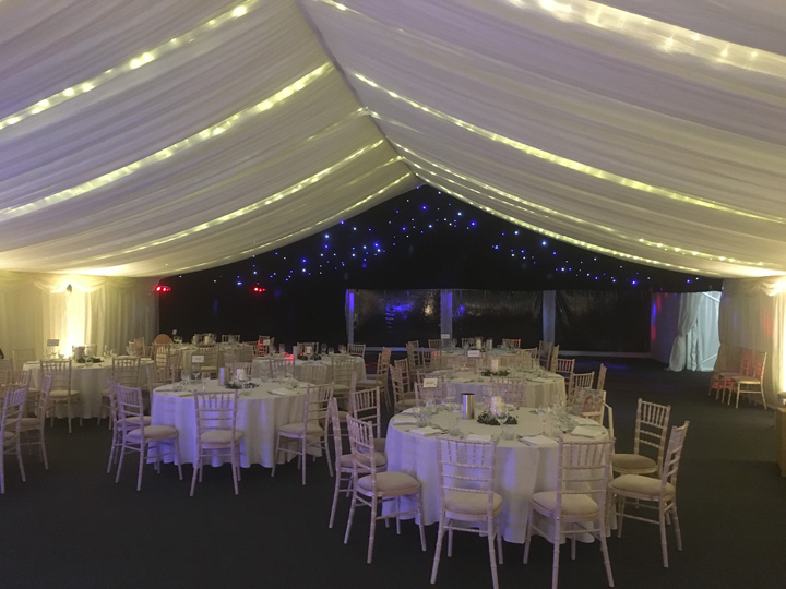 Marquees for hire in the Cotswolds Glos